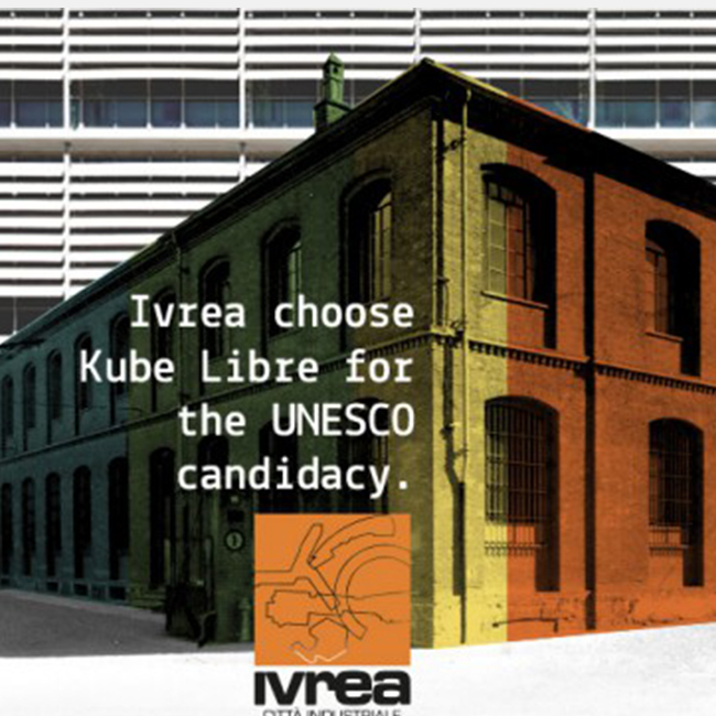 Ivrea chooses Kube Libre for the UNESCO application