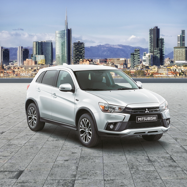 Mitsubishi ASX relocates with adv signed by Kube Libre