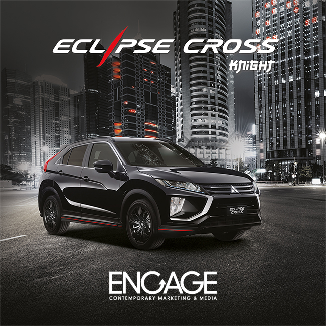 Mitsubishi Eclipse Cross Knight Edition: concept, naming and logo by Kube Libre