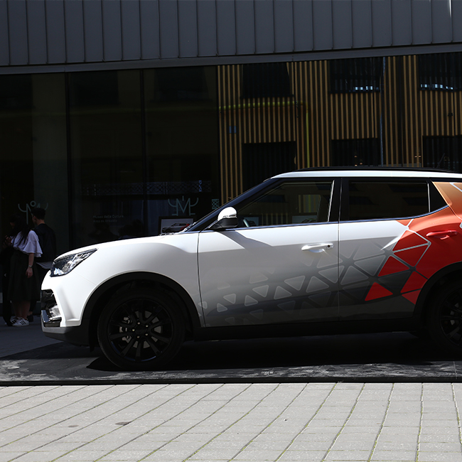 "SsangYong presents ""Tivoli Design Takeover"" at the Milan Design Week """